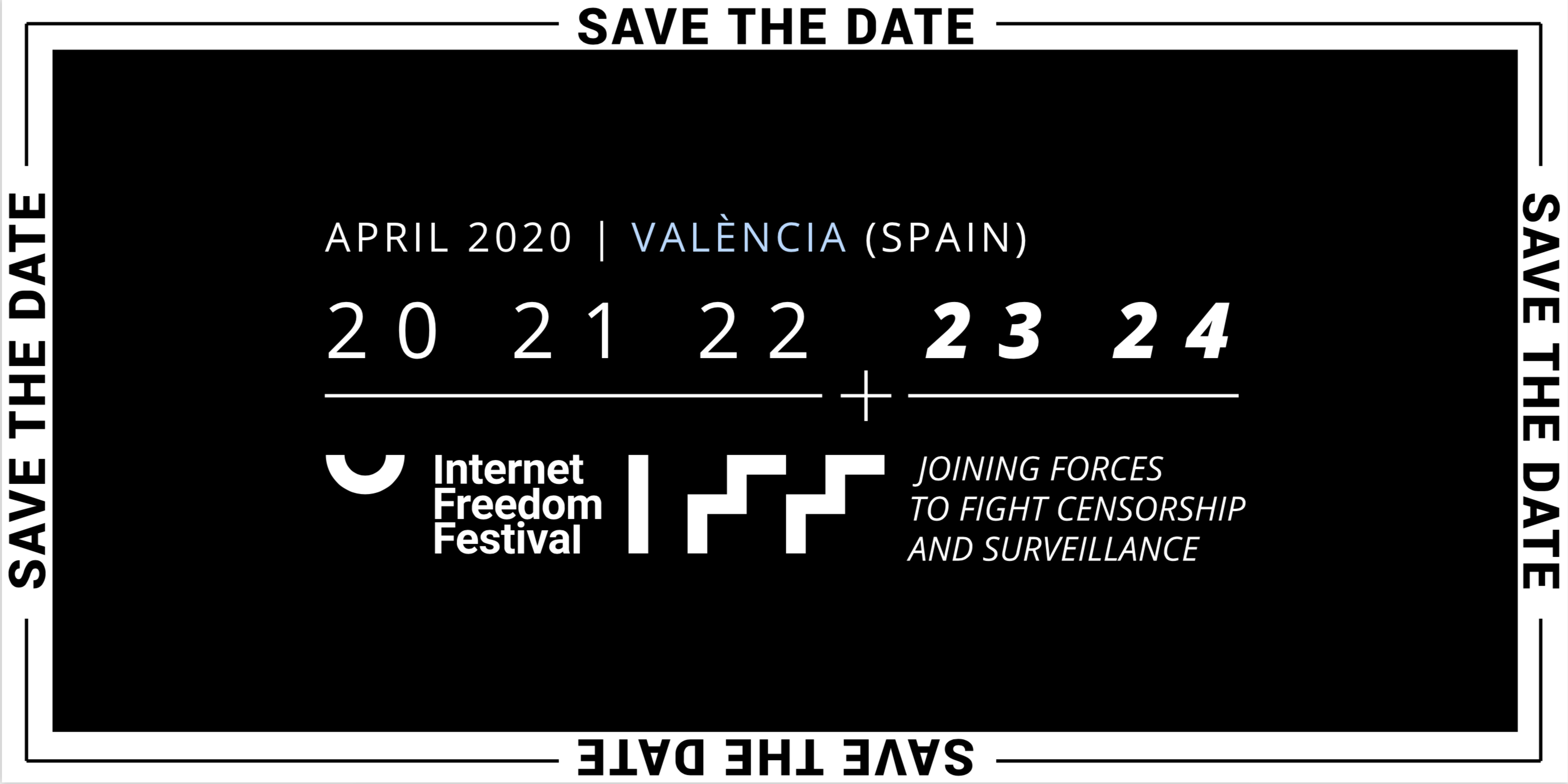 Internet Freedom Festival: Save the Date - April 20-24